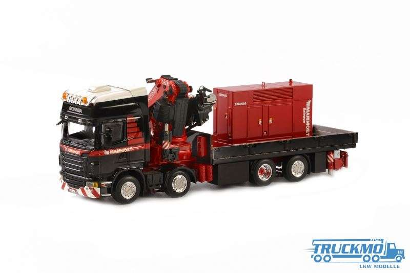 WSI Mammoet Scania R Topline mit Fassi Aufbaukran 410201