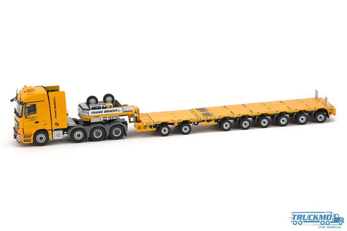 IMC models Franz Bracht Mercedes Benz Actros MP3 8x4 with Nooteboom MCO PX 2+6 33-0083