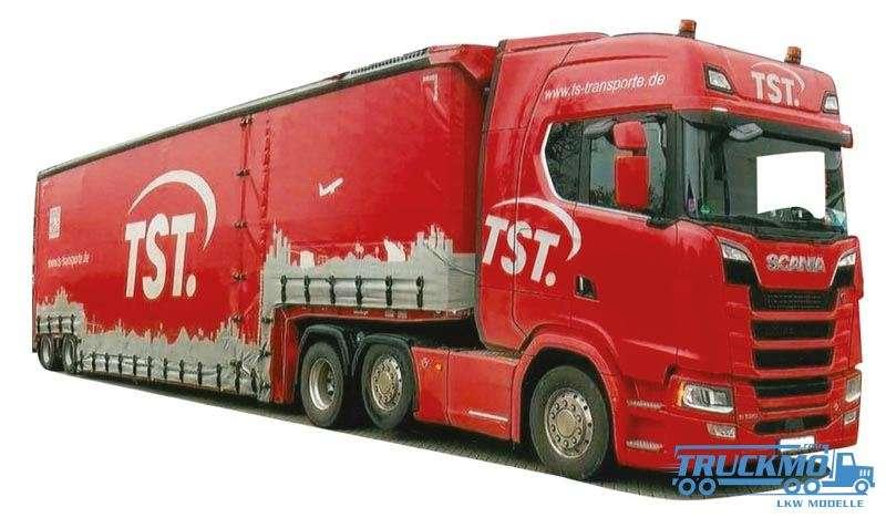AWM T S T Scania S Highline Tiefbett-Sattelzug 9272.41