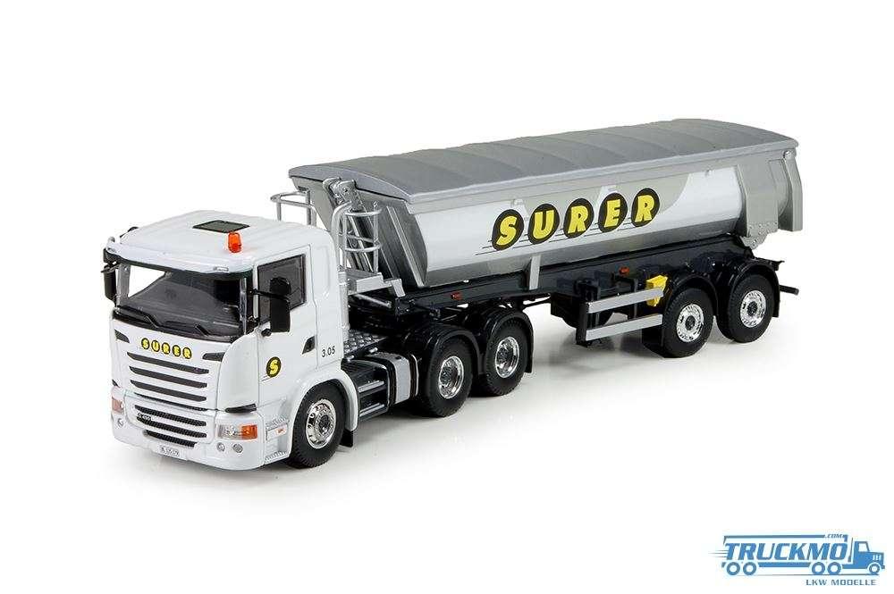 Tekno Surer Scania G-Serie 2 Achs Meiler Kipper 71947