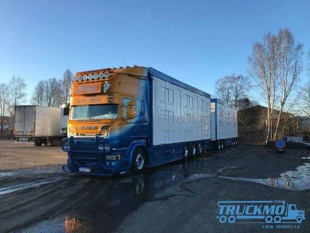 Tekno Friberg Scania R-Serie Topline Zweedse Viehcombi 73372