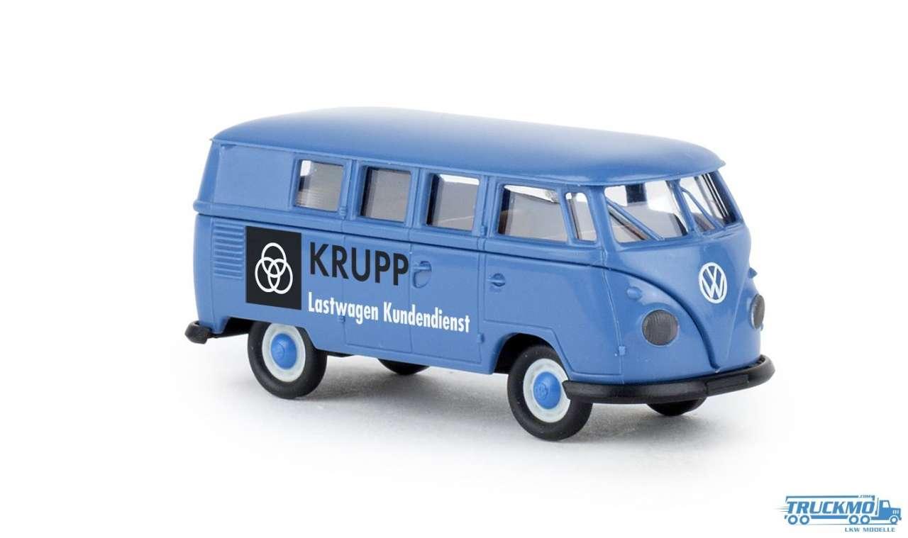 Brekina Krupp Lastwagen Kundendienst VW T1b Kombi 31597