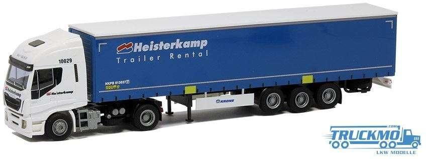 AWM Heisterkamp Iveco Stralis HiWay Planenauflieger 75427