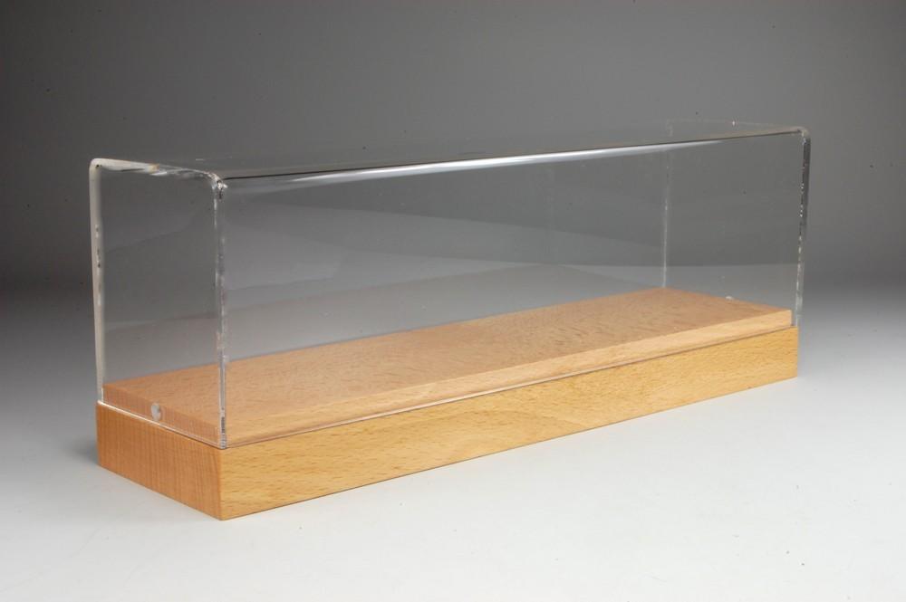 Tekno Vitrine Holz/Plexi