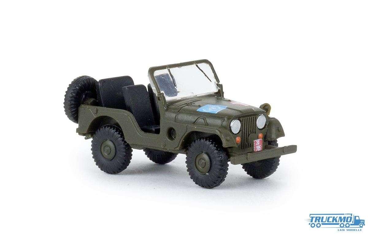 Brekina Danish Army Jeep Universal 58907