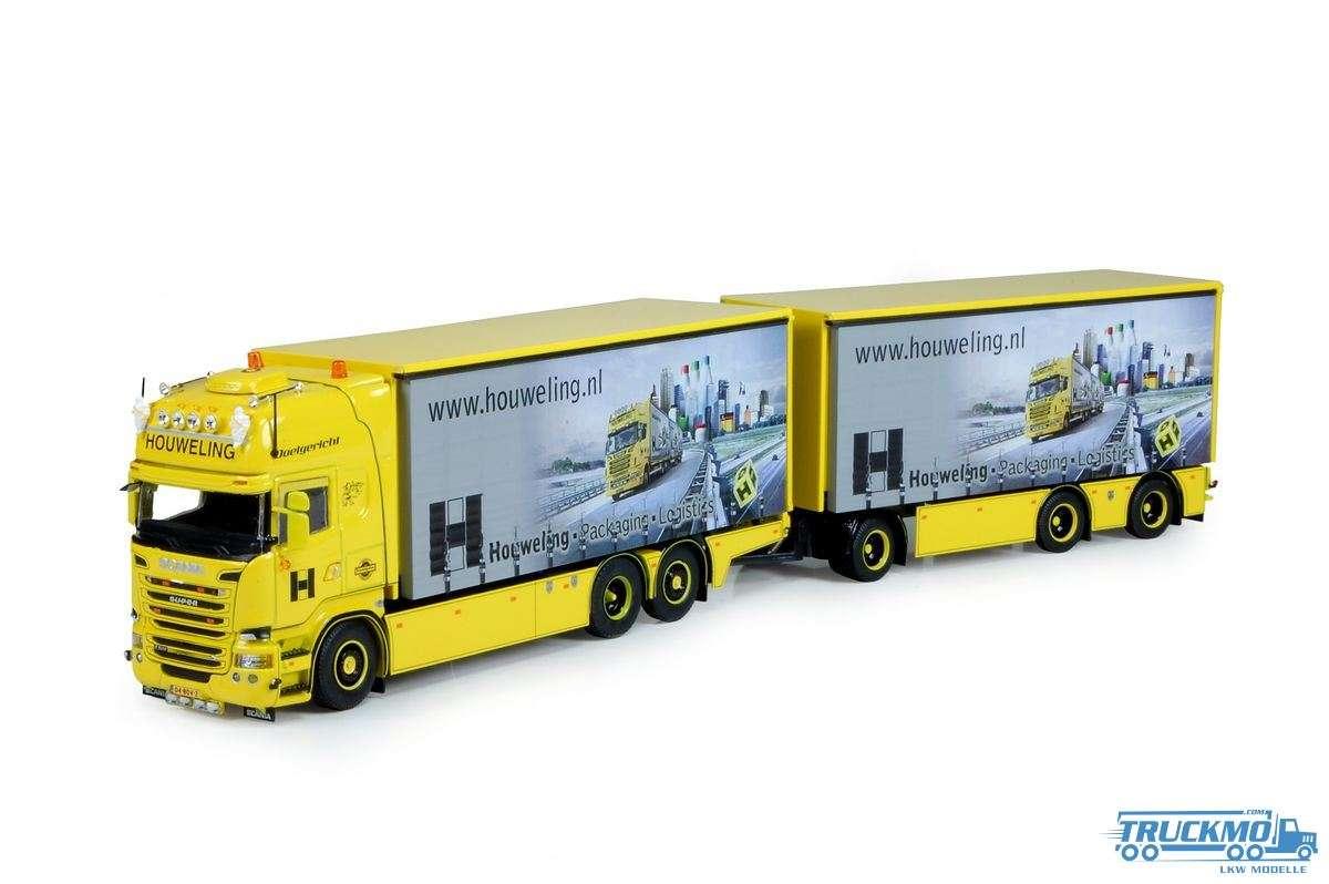 Tekno Houweling Scania R Topline Planen-Hängerzug 73367