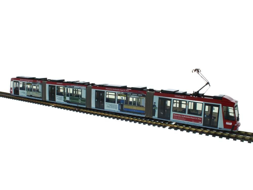 Rietze 30 Jahre Historisches Straßenbahn Depot St. Peter Adtranz GT8 STRA01030
