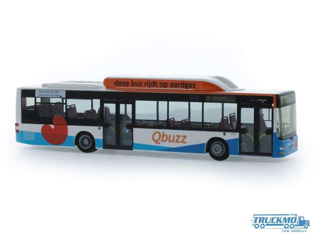 Rietze Qbuzz Friesland MAN Lion´s City CNG 72737