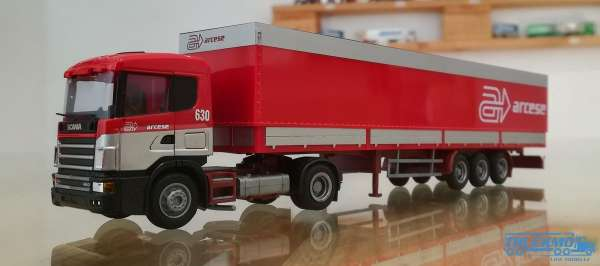 AWM LKW Scania 3 SL KSZ DRK Rotes Kreuz