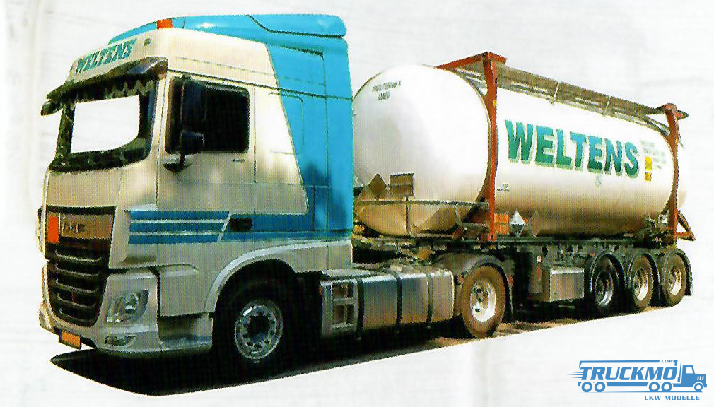 AWM Weltens DAF XF 106 Space Cab Containerauflieger 53775