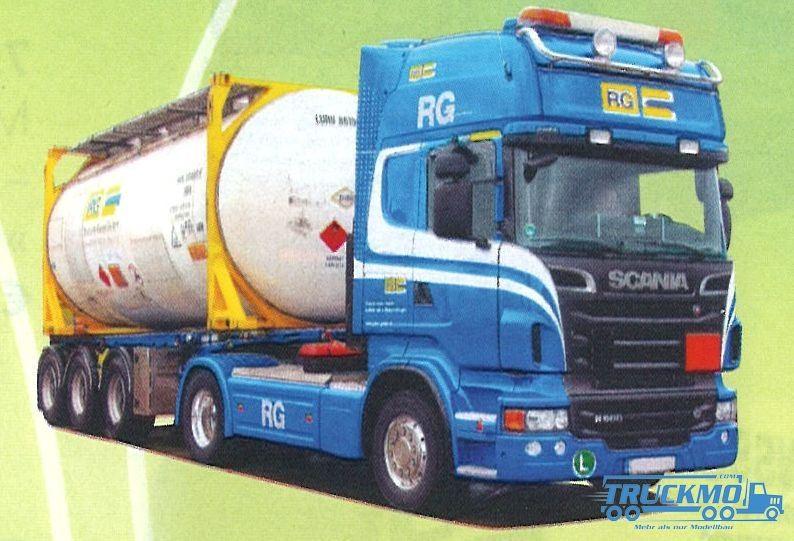 "AWM RG LKW Scania ""09"" Topl./Aerop.-Swapbody-SZ Modell"