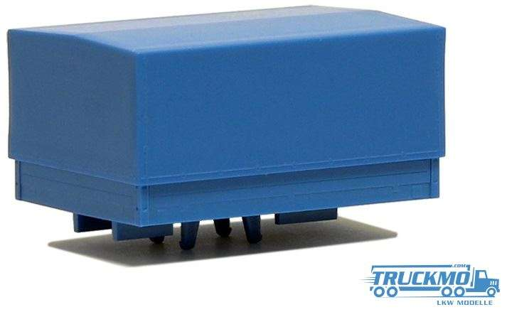 Herpa Ballastpritsche groß für Schwerlastzugmaschine himmelblau 692151