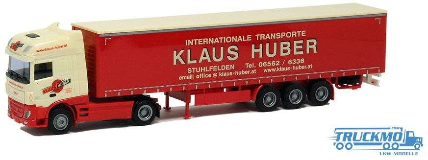 AWM Klaus Huber DAF XF 106 Super Space Cab Planenauflieger 54415