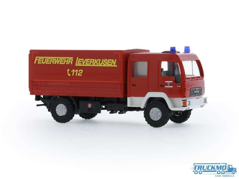 Rietze Feuerwehr Leverkusen MAN Dekon-P 68048