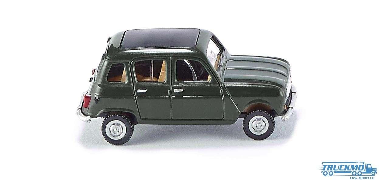 Wiking Renault R4 Faltdach tannengrün 022402