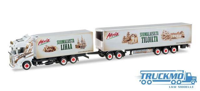 Herpa Ristimaa Atria Scania R HL Eurocombi LKW Modelle 305495