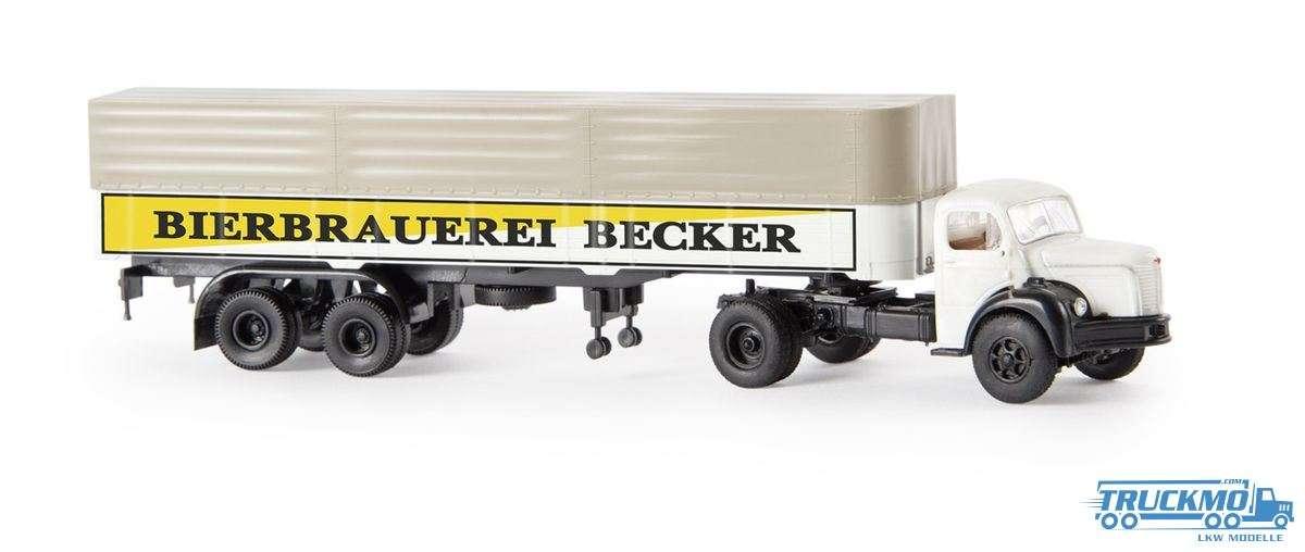 Brekina Becker Bier Berliet TLR 8 PP-SZ 85404