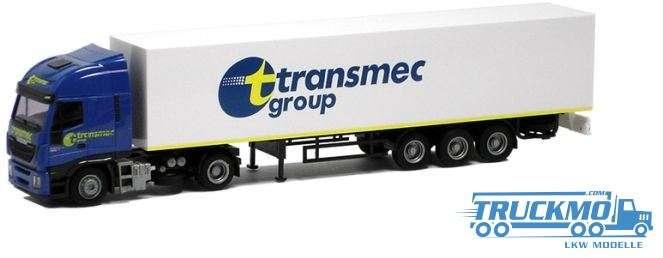 AWM Transmec Iveco HiWay Koffer-Sattelzug 75429
