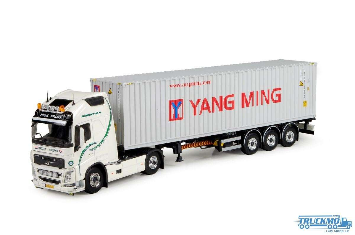 Tekno Prins Transport Volvo FH04 mit 40 ft container Yang Ming 73264 LKW Modell