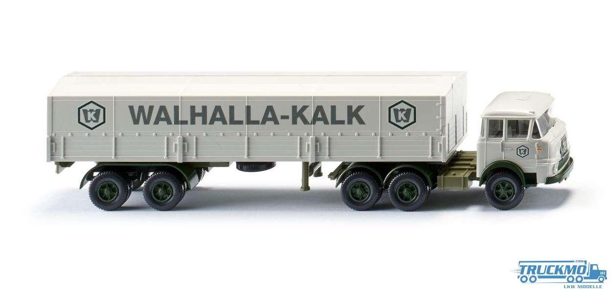 Wiking Walhalla Kalk Krupp 806 Pritschensattelzug 048801