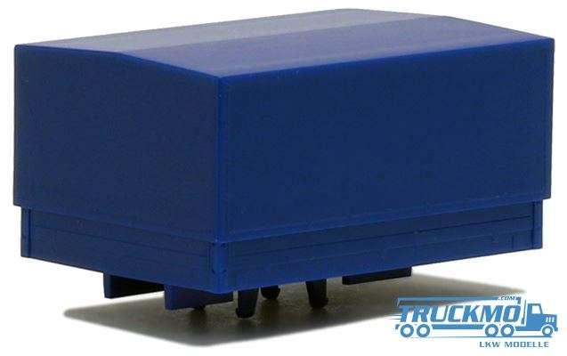 Herpa Ballastpritsche groß für Schwerlastzugmaschine blau 692143