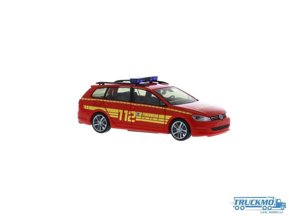Rietze Feuerwehr Bad Soden am Taunus Volkswagen Golf 7 Variant 53306