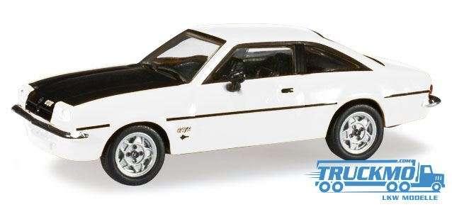 Herpa Opel Manta B weiß/schwarz 024389-005
