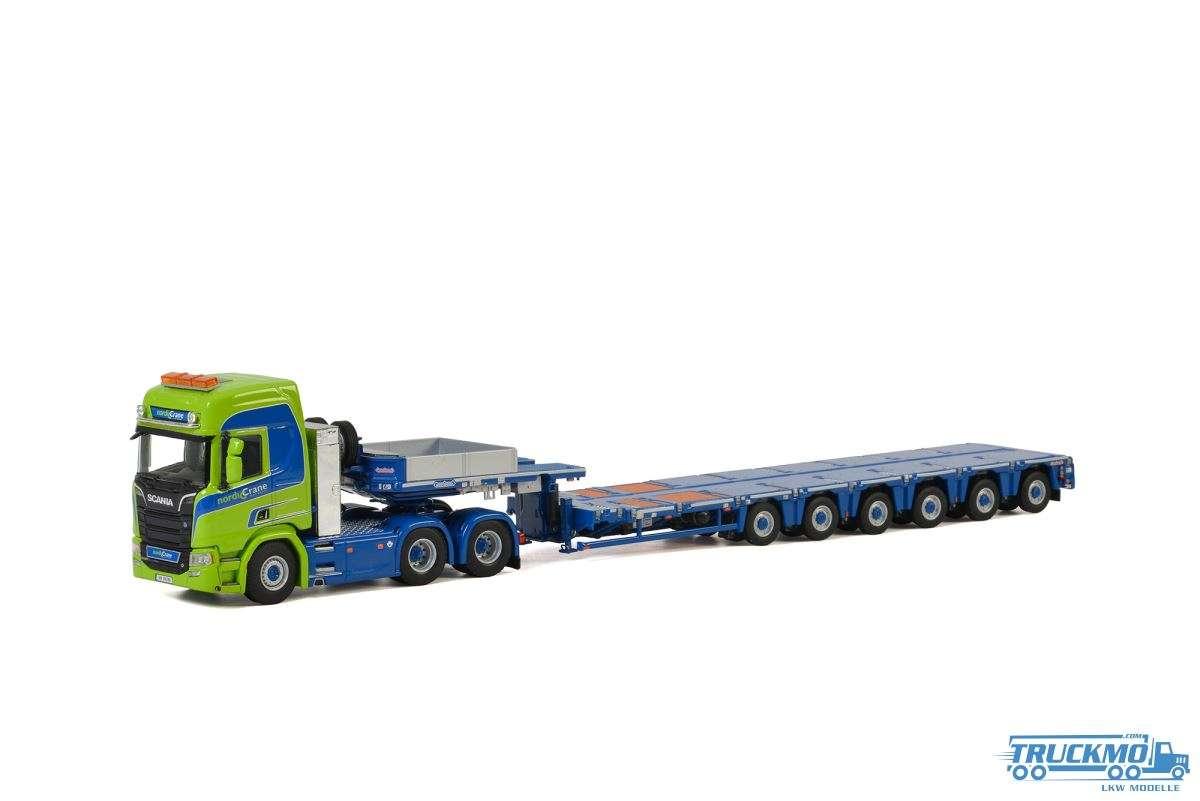 WSI Nordic Crane Midt-Norge Scania R Highline CR20H Tieflader 01-2895