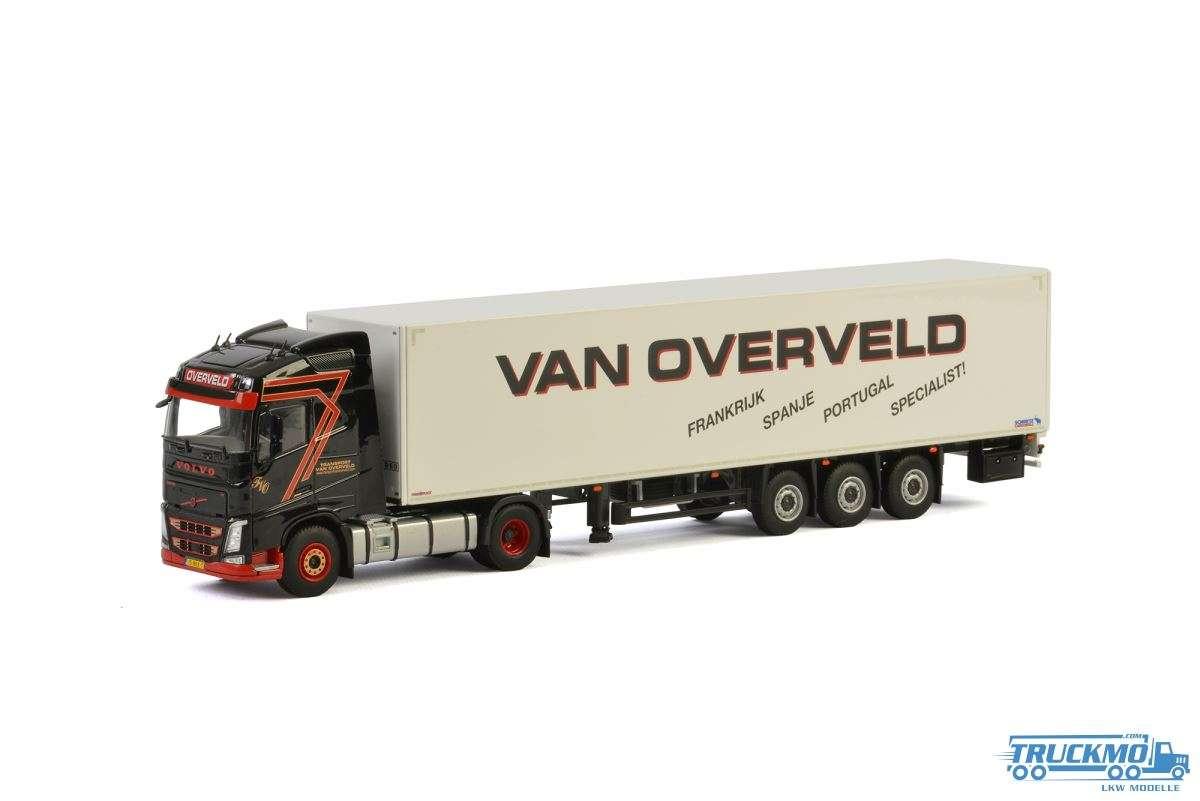 WSI Transport van Overveld Volvo FH04 Globetrotter Kofferauflieger 01-2461