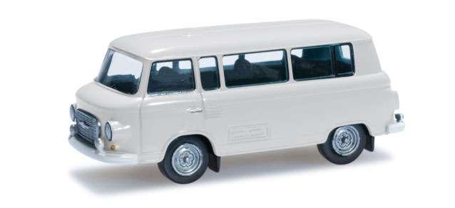 Herpa Barkas B 1000 Bus, grauweiß 066211-002 1:120