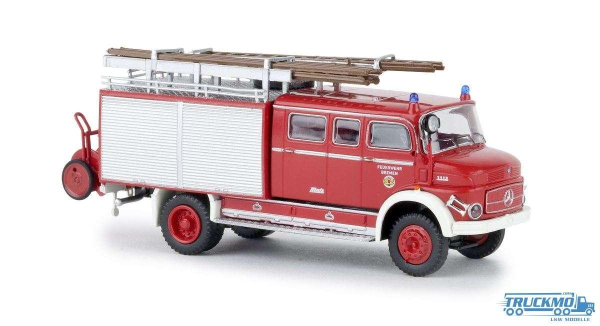 Brekina Feuerwehr Bremen Mercedes Benz LAF 1113 LF 16 47132