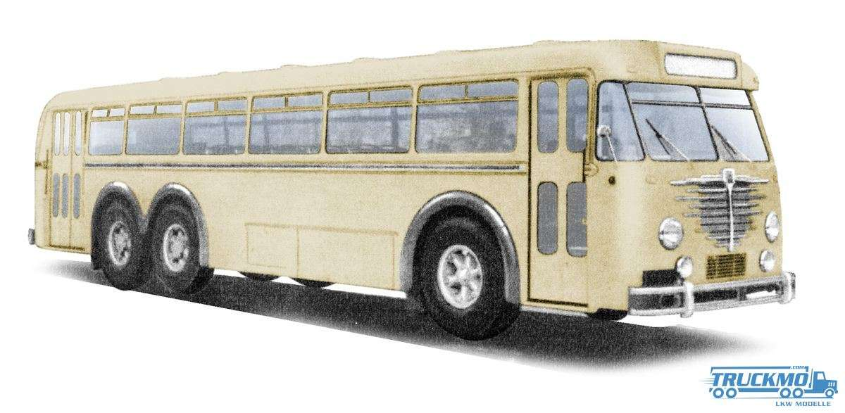 Brekina Büssing 12.000 Bus beige 59420