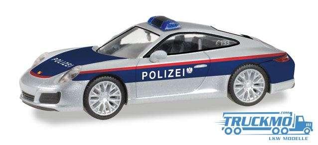 Herpa Polizei Österreich Porsche 911 Carrera 093507