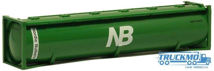 Herpa Nordic Bulkers 40ft. Drucksilo Container 491277