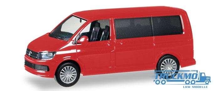 Herpa VW T6 Multivan, kirschrot 028738-002
