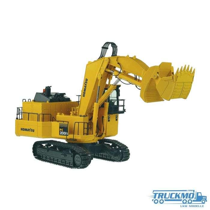 NZG Komatsu PC2000-8 mining excavator with front shovel 762