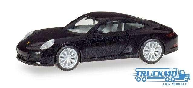 Herpa Porsche 911 Carrera 4S deep black metallic 038638-002