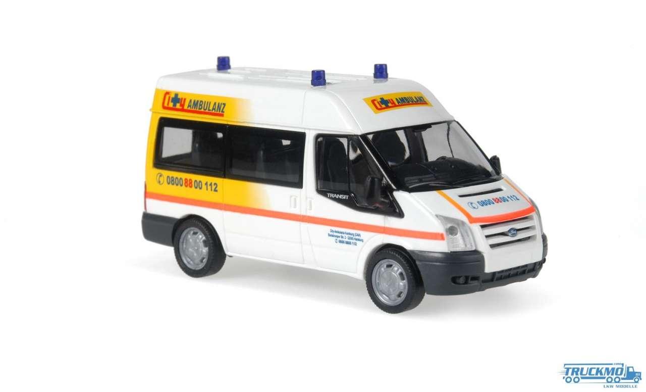 Rietze City Ambulanz Ford Transit 06 51537