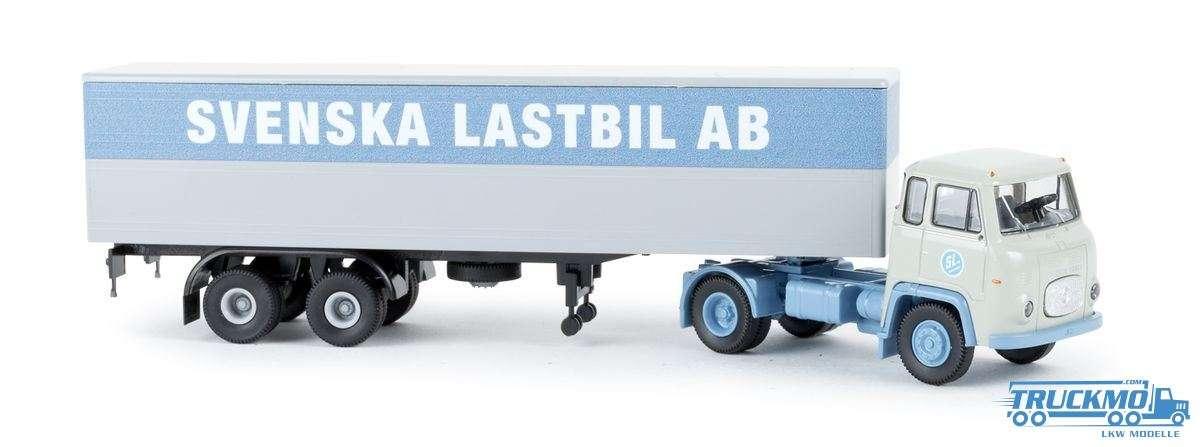 Brekina SLAB Scania LB 76 Koffer-Auflieger 85166