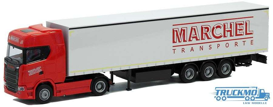 AWM Marchel Scania S Highline Planenauflieger 54437