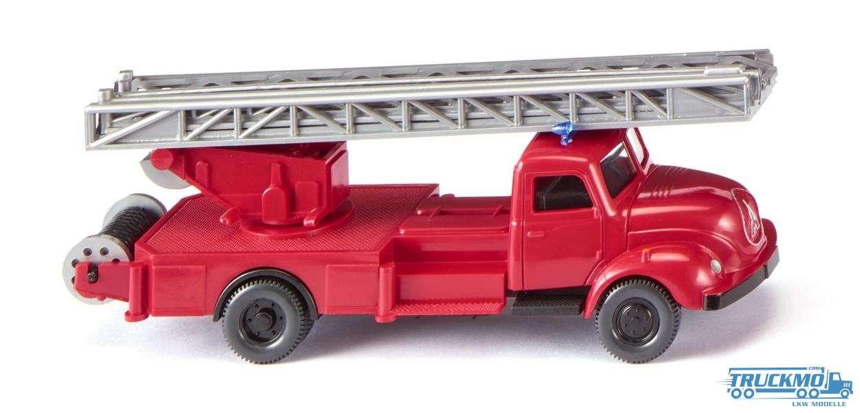 Wiking Feuerwehr Magirus S 3500 Drehleiter 062002
