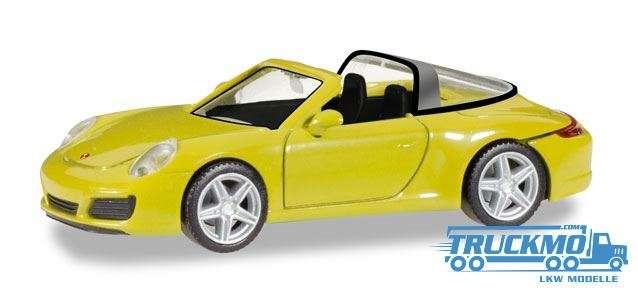 Herpa Porsche 911 Targa 4 racinggelb 028868