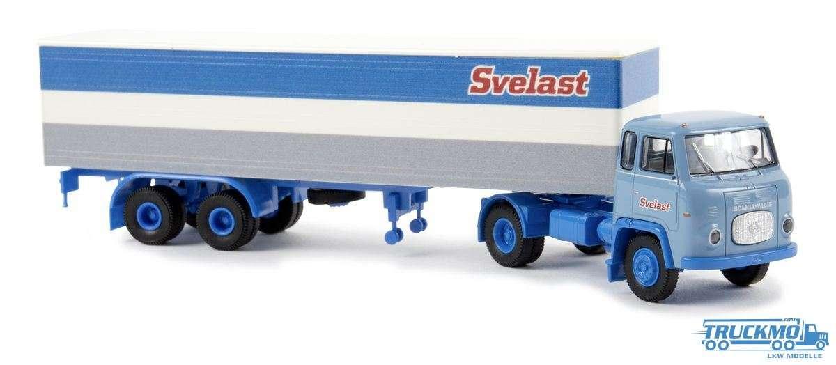 Brekina Svelast Scania LB 76 Koffer-Sattelzug 85157