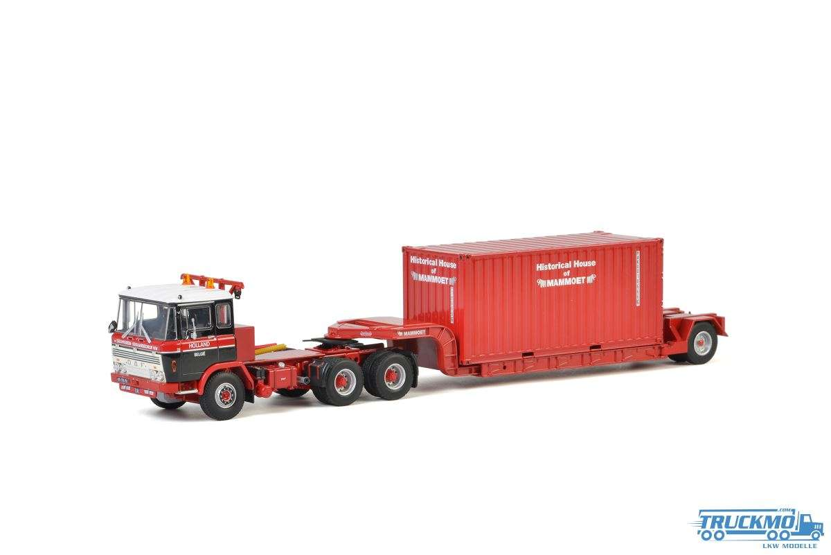 WSI Mammoet DAF 2600 Tieflader 20ft Container 410332