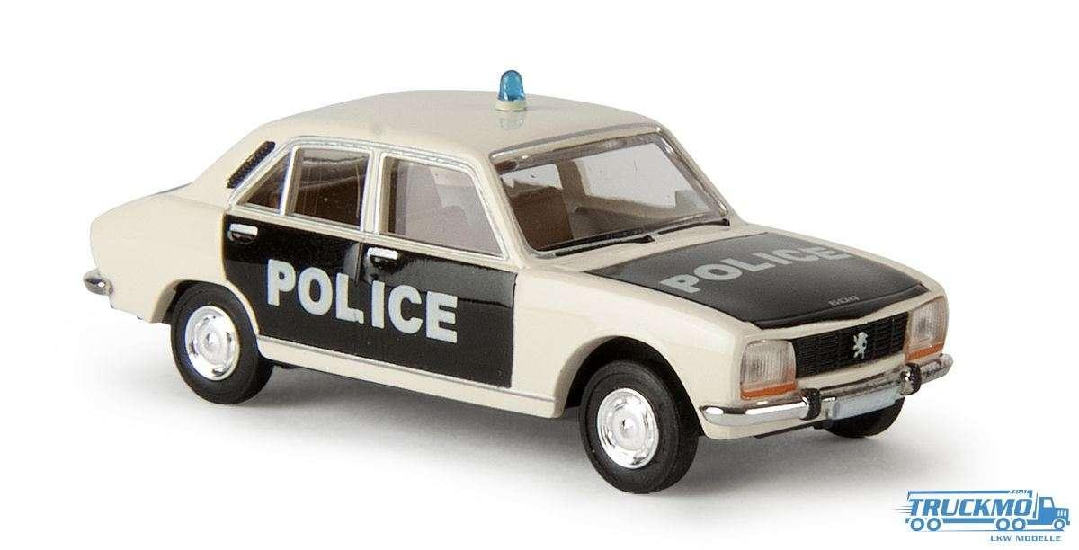 Brekina Police Peugeot 504 29108