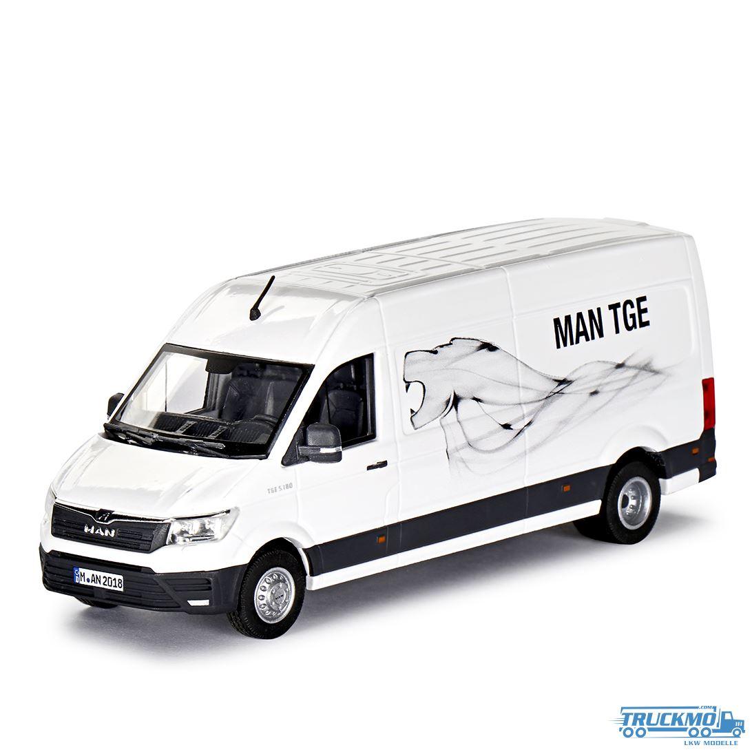 MAN TGE 4.180 Doka Transporter Pritsche Conrad Modelle con 1616//0