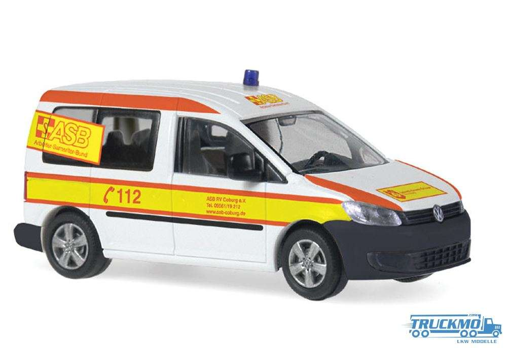 Rietze ASB Coburg Volkswagen Caddy 11 52903