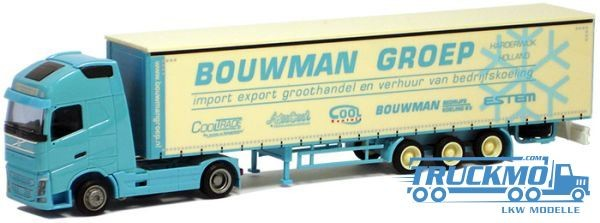 "AWM Bouwman LKW Volvo ""12"" XL / Aerop. - Megagardinenplanen-SZ Modell"