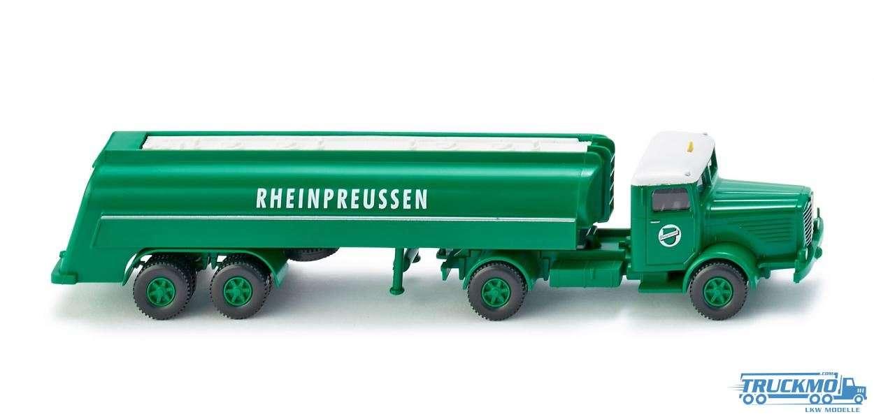 Wiking Rheinpreussen Büssing 8000 Tanksattelzug 088249