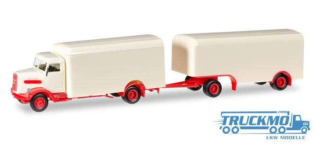 Herpa MAN 750 L Koffer Oldtimer 927710
